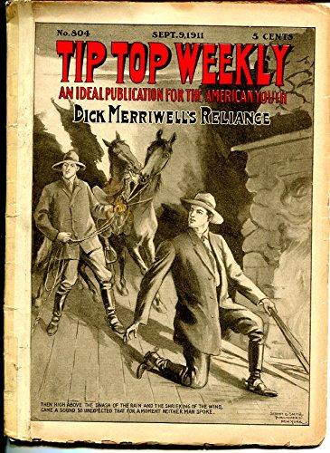 Tip Top Weekly 9/9/1911-Dick Merriwell-adventure pulp fiction-FR/G (Tip Top Weekly)