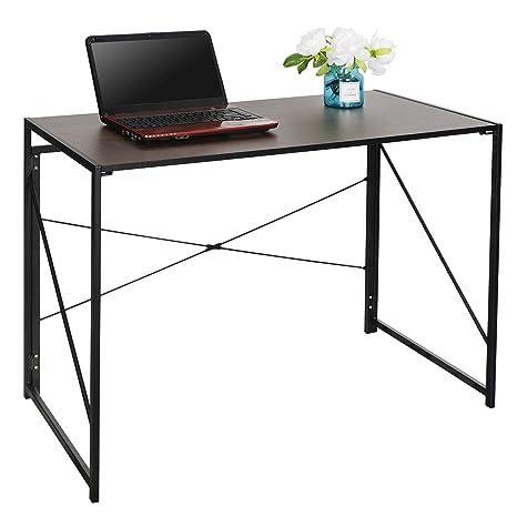Amazon.com: Nouva - Escritorio plegable para ordenador, mesa ...