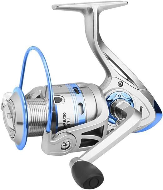 No Carrete de Pesca Spinning Reel,Todo el Metal Carrete de Pesca ...