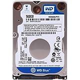"WD WD5000LPVX Blu Hard Disk Mobile da 500 GB, 5400 RPM, SATA 6 GB/s, 2.5 "", 7.0 mm"