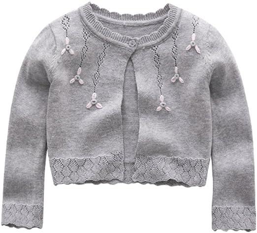 ZPW Little Girls Long Sleeve Knit Cardigan Shrug