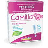 Boiron Camilia Baby Teething Relief Medicine, 15 unit-doses (1 ml each). Camilia relieves pain, restlessness…