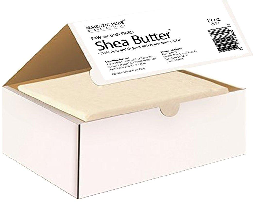 Majestic Pure Grade A Unrefined Organic Shea Butter, 12 oz by Majestic Pure (Image #3)