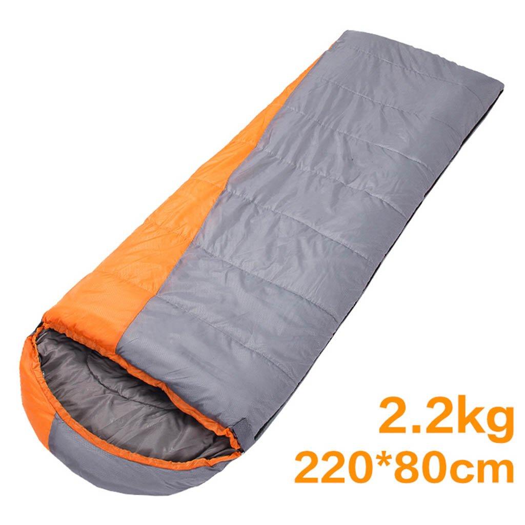 寝袋、屋外大人の暖かいキャンプ旅行四季 B07D9BF14N  グレー