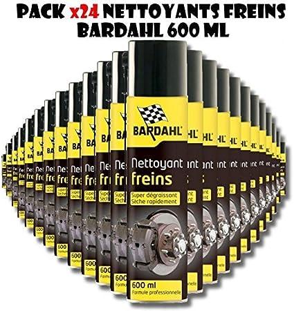 Bardahl 24 StÜck Packung Bomben Reinigend Bremse Super Entfetter 600 Ml Auto