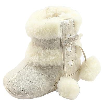 OHmais Unisex Enfants Chaussure bebe garcon bébé fille premier pas Chaussure premier pas bébé sandale