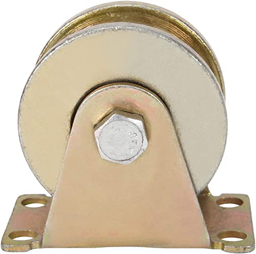 Famus Ruedas de Placa de Puerta corrediza de 80 mm de diámetro ...