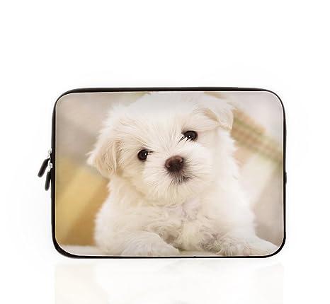 Funda para portátil, mascota perro bolsa de ordenador portátil bolsa caso, Chevron, 10