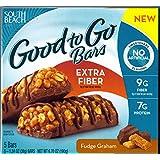 South Beach Diet Good to Go Fiber Bar, Fudge Graham, 5 Count