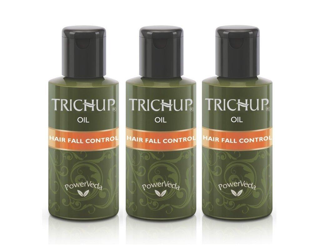Trichup Hair Fall Control Oil Combo (3 x 200ml) Vasu Healthcare