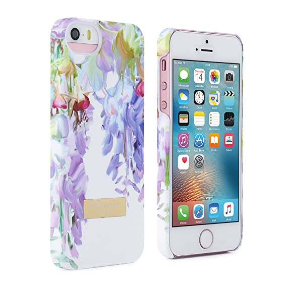 100% authentic a4a76 7cb1e Ted Baker iPhone SE Case; Hard Shell Hanging Gardens