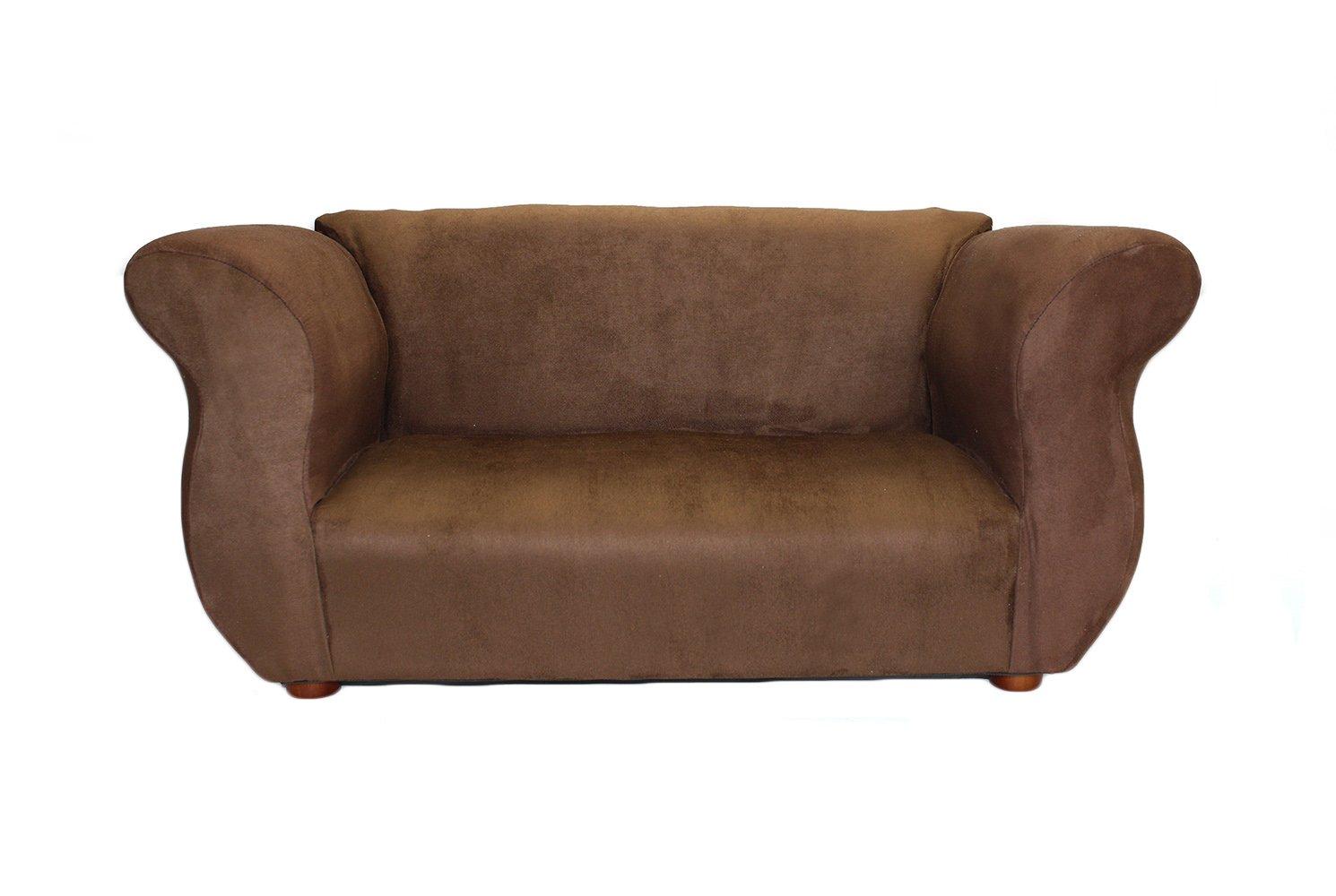 KEET Fancy Kid's Sofa, Brown