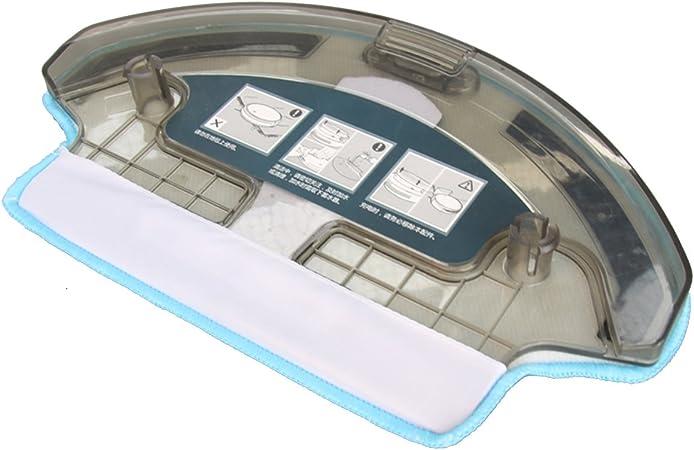 TeKeHom 1x Tanque de Agua + 1x paño de fregona para Ecovacs Deebot ...