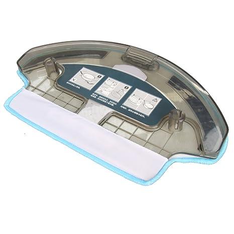 TeKeHom 1x Tanque de Agua + 1x paño de fregona para Ecovacs Deebot DT85G DT85 DT83