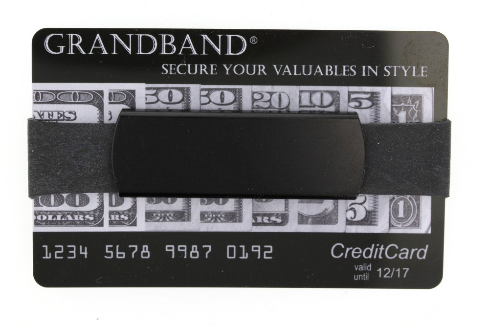 Grand Band Jumbo Aluminum Grand Band Gb9100 with 2 Replacement Bands (BLACK)