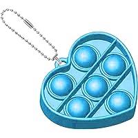 Exuberia Pu-sh Up fidget leksak nyckelring, Pu-sh Bubble Fidget Sensory Toy Pop It Fidget Toy Pu-sh Pop Bubble Sensor…
