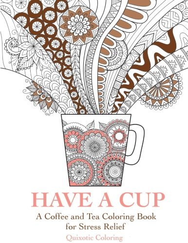 Adult Coloring Books about Tea