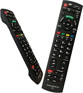 iLovely Control Remoto para Panasonic N2QAYB000752 para Televisores Panasonic Smart TV: Amazon.es: Electrónica