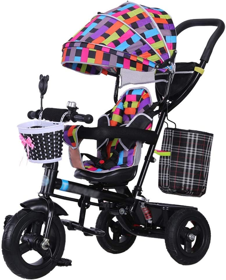 CC - Strollers Cochecito 4-En-1 Bicicleta para Niños Triciclo para ...
