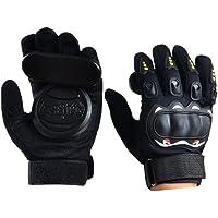 Acoser Longboard Downhill Slide Gloves Skate Gloves with Slide Pucks