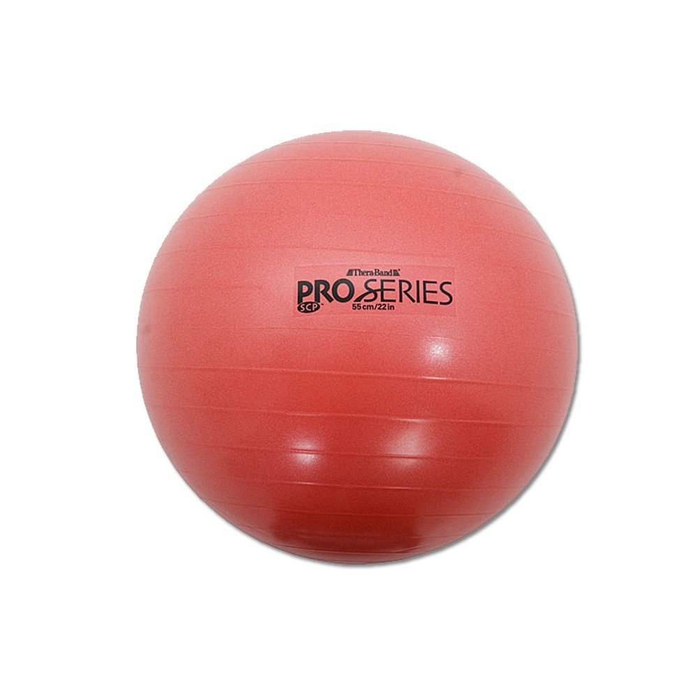 Thera-band Red Slow Deflate System Pro-series Anti-burst Exercise Ball
