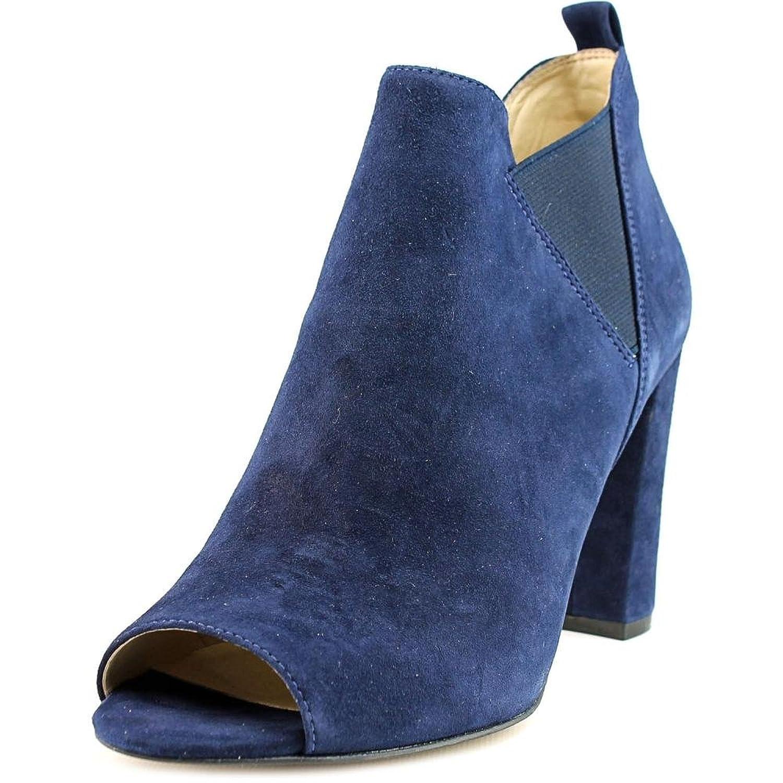 sayla Women US 8 Blue Peep Toe Bootie