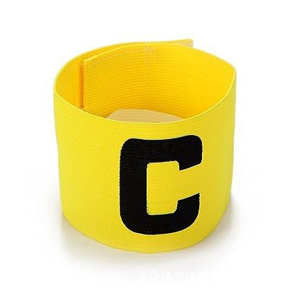 Soccer Basketball Football Adjustable Player Bands Fluorescent Captain Armband