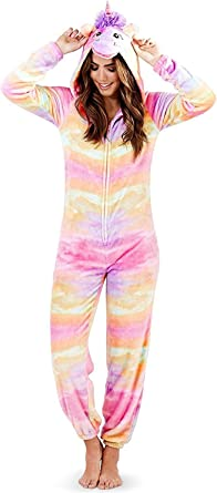 Loungeable Boutique Pijama Onesie con Orejas de Pijama