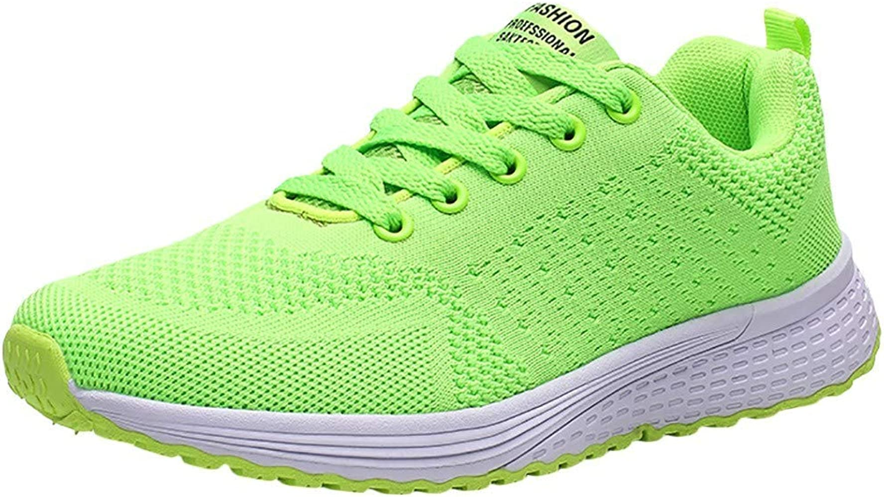 Alaso Soldes - Zapatillas deportivas para mujer verde 39: Amazon ...