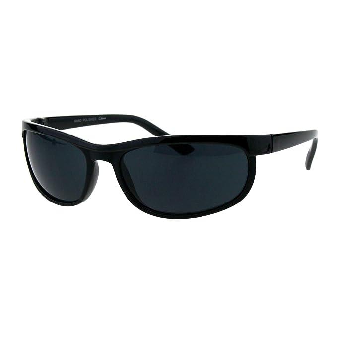 Amazon.com: Gafas de sol ovaladas para hombre, color negro ...