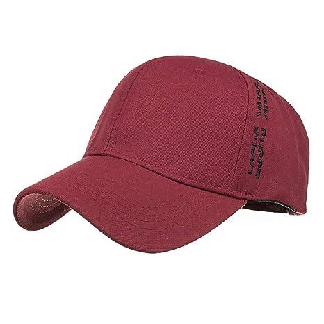 YUANBAOG Marca Béisbol Bordado Lavar Sombreros para Hombres ...