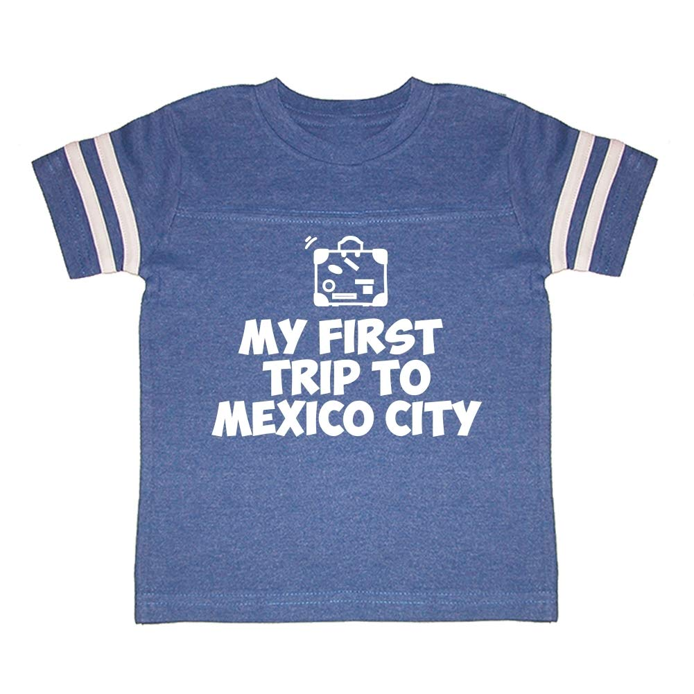 Mashed Clothing My First Trip to Mexico City Toddler//Kids Sporty T-Shirt
