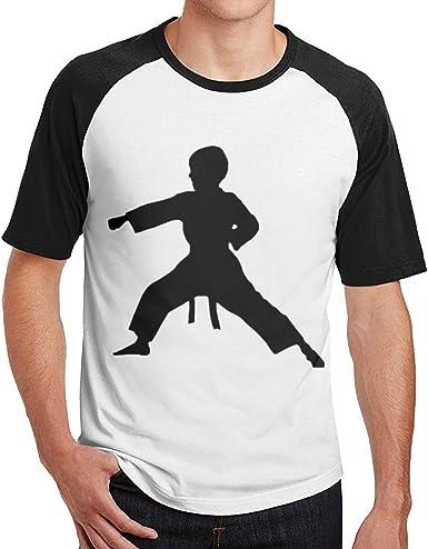 Sporsy Camisetas y Tops Hombre Polos y Camisas,Men Karate Boy ...
