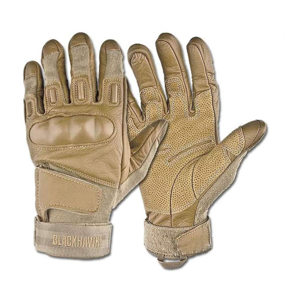 BLACKHAWK! S.O.L.A.G. Tan Heavy Duty 8151LGTN Glove Nomex/Poly Bag/Large