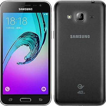 SAMSUNG Galaxy J3 2016 j320fd Smartphone (8 GB, Dual SIM, Negro ...