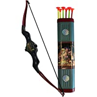 Oramics Super Shoot pijl en boog-speelset – jeugd- en kinderboog – boogschietset met koker en 6 pijlen met zuigknop…