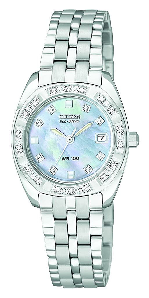 Citizen Women s EW1590-56Y Eco Drive Stainless Steel Watch