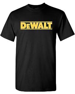 DeWalt tools t-shirt contractor handy man professional construction tools racing (2X)
