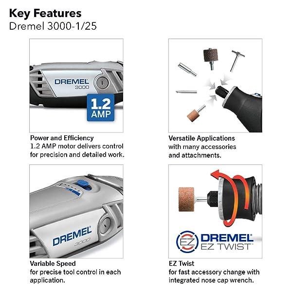 key features of dremel 3000