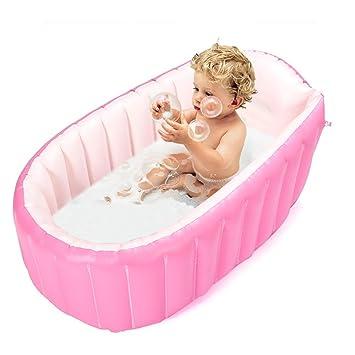 Amazon.com : Inflatable Baby Bathtub, Topist Portable Mini Air ...