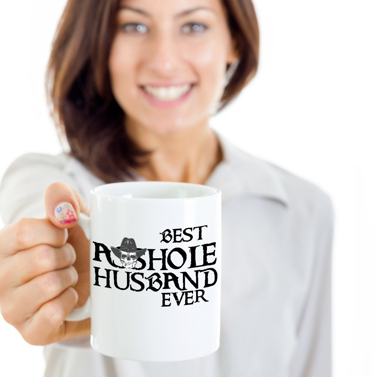 Amazon.com: Best Asshole Husband Ever Mug Funny Cowboy Coffee Tea Mugs Best  Birthday Father's Day Gifts for Him Men Dad Grandpa (11oz): Kitchen & Dining