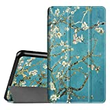 Fintie Slim Shell Case for Samsung Galaxy Tab A 7.0 - Ultra Lightweight Protective Stand Cover for Samsung Galaxy Tab A 7-inch Tablet 2016 Release (SM-T280/SM-T285), Blossom