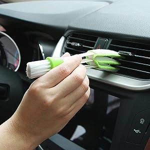 2019 New 1PCS Car Cleaning Brush Accessories for Alfa Romeo 147 156 159 Alfetta Berlina Brera Mito Giulia Milano