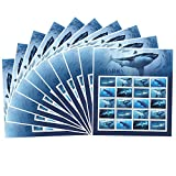 Shark 10 Sheets of 20 Forever USPS First Class one Ounce Postage Stamps Ecotourism Conservation Preservation Ecology Nature