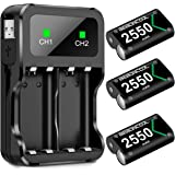 Controller Battery Pack for Xbox One/Xbox Series X|S, Rechargeable Battery Pack for Xbox Series X|S/Xbox One/Xbox One S…