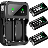 Controller Battery Pack for Xbox One/Xbox Series X S, Rechargeable Battery Pack for Xbox Series X S/Xbox One/Xbox One S…