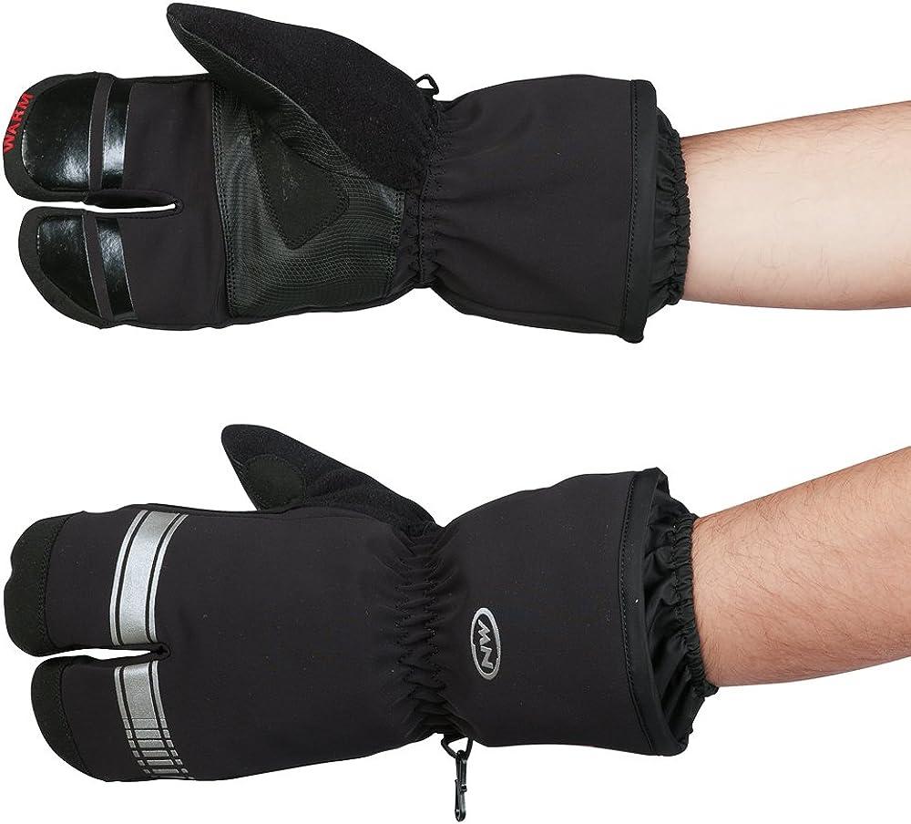 Northwave Husky Lobster Vollfinger-Handschuhe Herren Black 2020 Fahrradhandschuhe