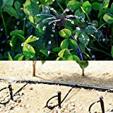 MANSHU 100pcs Adjustable Irrigation Drippers, Drip