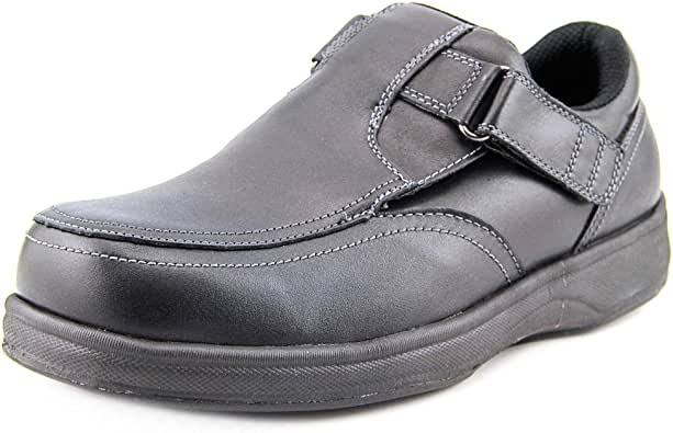 Orthofeet Proven Foot Pain Relief Comfort Best Orthopedic Diabetic Arthritis Men's Loafer Shoes Carnegie