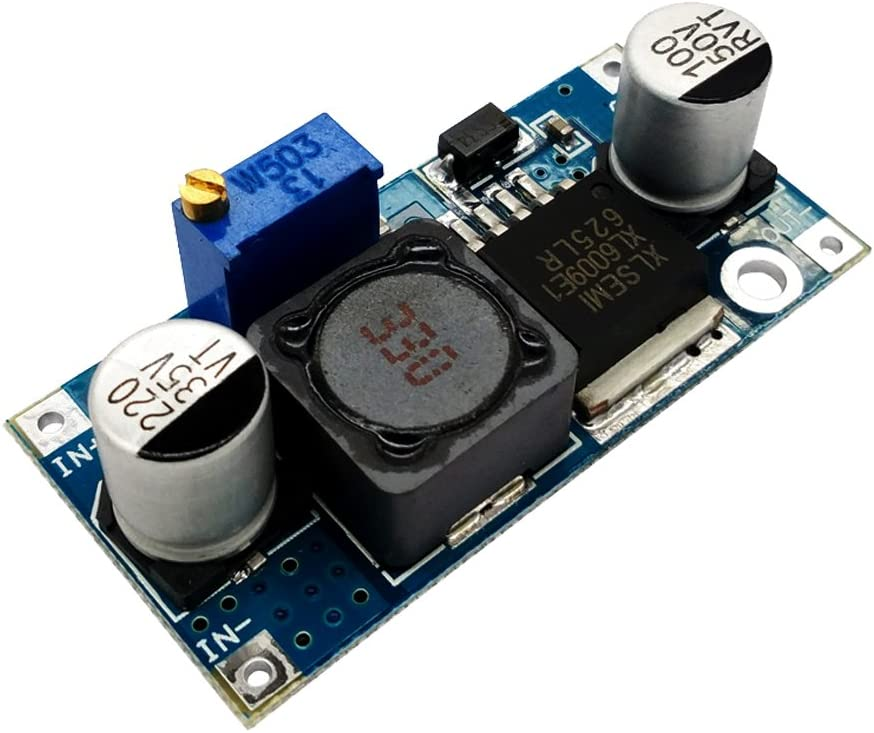 SHENTIANWEI LDTR-WG0179 XL6009 DC to DC Adapter Non-Isolated Booster Circuit Board Module Blue